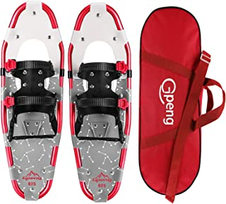 Gpeng Xtreme Lightweight Snow Shoes Snowshoes for Men Women Youth Kids with Carrying Tote Bag, 14