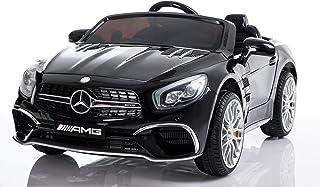 Mercedes Electric Ride On Car - Licensed SL65 AMG Car For Kids - 12V - Black