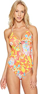 Polo Ralph Lauren Womens Mumbai Floral One-Piece Swimsuit Multi XS One Size