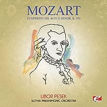Mozart: Symphony No. 40 in G Minor, K. 550 (Digitally Remastered)