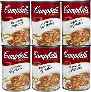 Campbell's Vegetarian Vegetable Soup, 10.5 oz, 6 pk