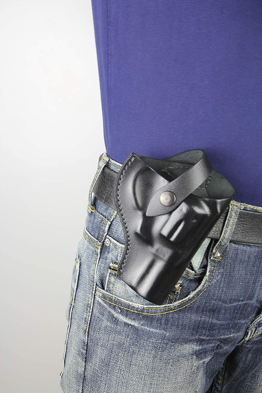 Recommended S W Model 66 Combat Magnum Belt online shop H Genuine gun Revolver Leather