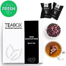 Teabox Mountain Rose Black Tea, Set of 16 Teabags