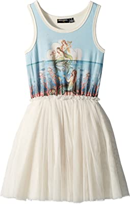 Rock Your Baby Little Mermaids Singlet Circus Dress (Toddler/Little Kids/Big Kids)