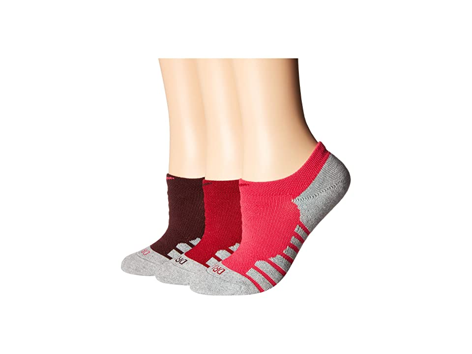 Nike Everyday Max Cushion No Show Training Socks 3-Pair Pack (Multicolor 2) Women