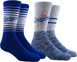 PKWY by Stance MLB Unisex Mixed 2-Pack Crew Socks