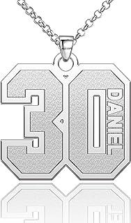 Jsjoy Number Necklace