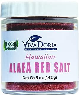Hawaiian Red Alaea Sea Salt - Fine Grain (5 oz glass jar)