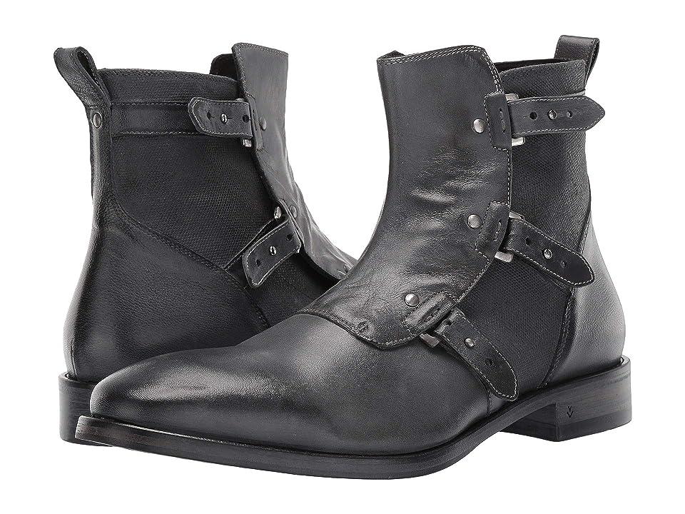 John Varvatos Collection Fleetwood Pin Strap Boot (Lead) Men