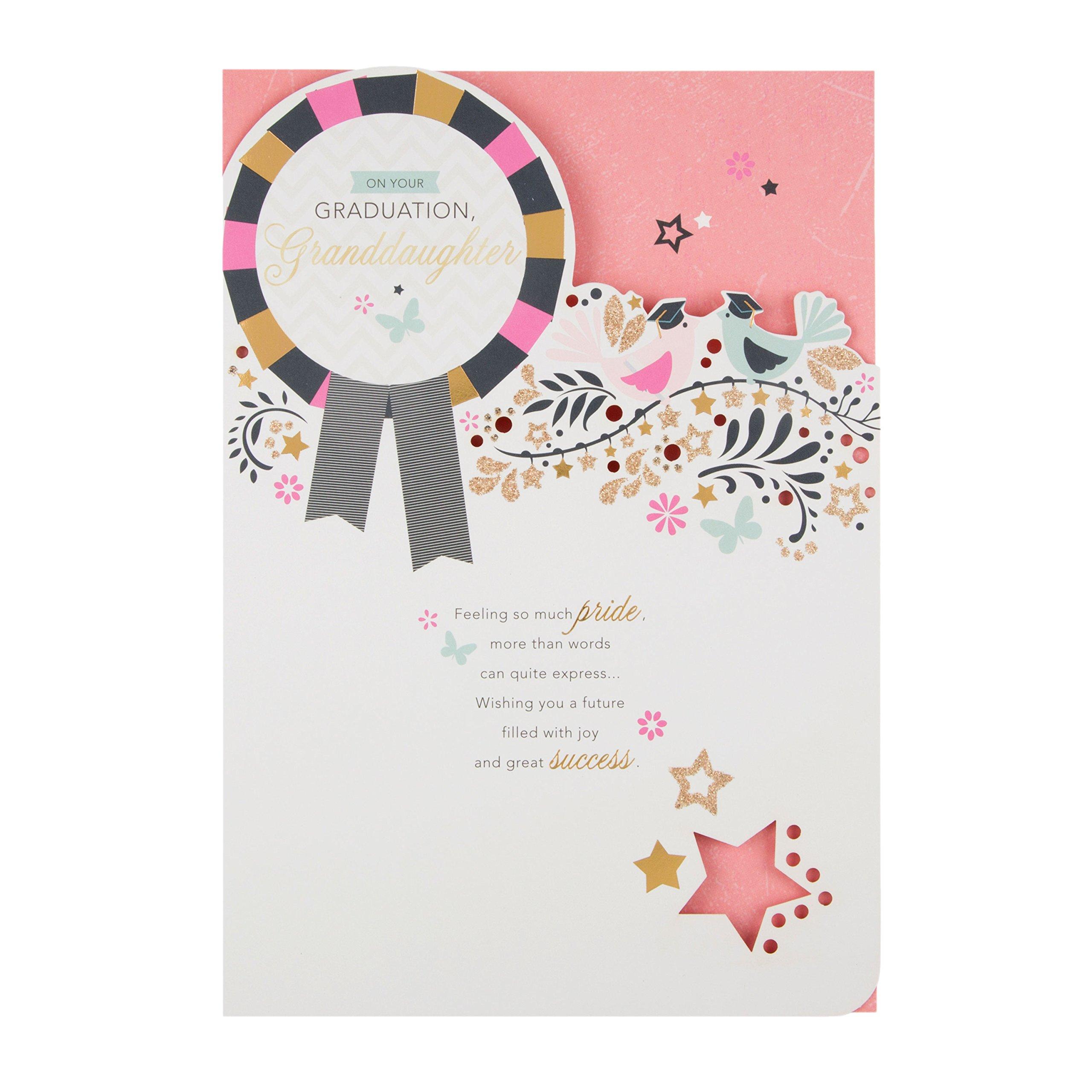 Hallmark 25490396 MediumSo Much Pride Grandson Graduation Card