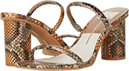 Tan Multi Snake Print Leather
