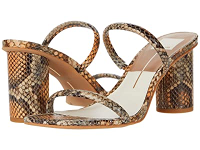 Dolce Vita Noles (Tan Multi Snake Print Leather) High Heels