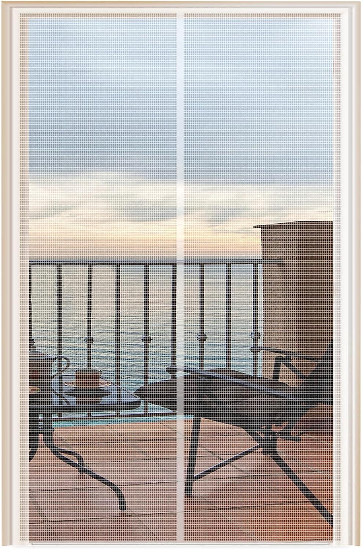 YUFER Magnetic Max 61% OFF Screen Door 38 Super popular specialty store x Curtain 82 Sli Mesh