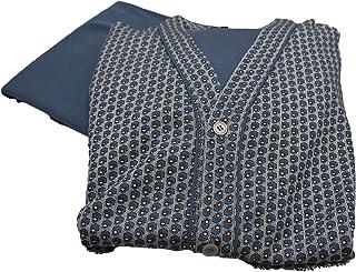 GERMINI Pigiama Uomo Giacca Cardigan Aperta con Bottoni E Tasche in Caldo Cotone BIP BIP Art.5977 dalla 4 alla 7 Prodotto ...