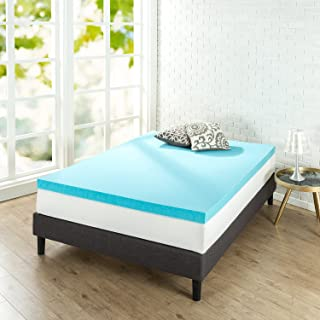 Zinus 3 Inch Gel Memory Foam Mattress Topper, Queen