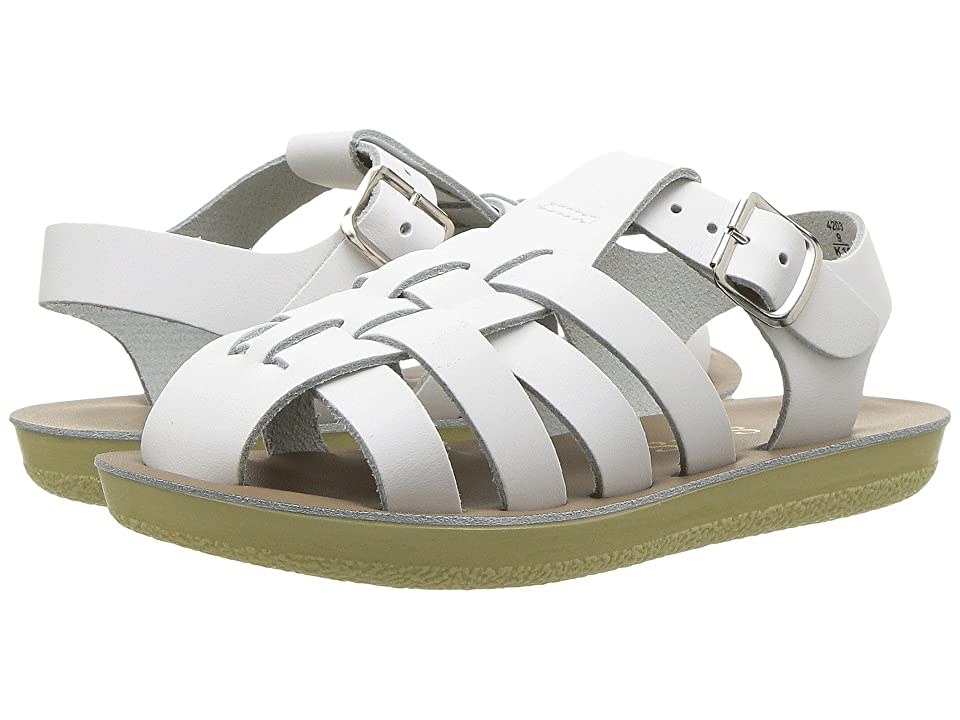 Salt Water Sandal by Hoy Shoes Sun-San Sailors (Toddler/Little Kid) (White) Kids Shoes