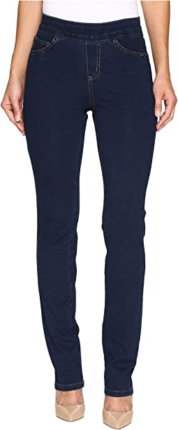 Comfy Denim Wonderwaist Pull-On Straight Leg in Indigo
