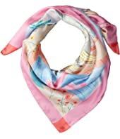 Kate Spade New York - Palm Springs Pool Silk Square Scarf