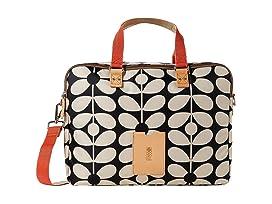 Sixties Stem Nylon Luggage Work Bag
