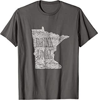 drink local craft beer t shirt