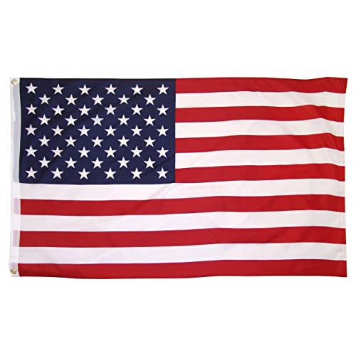 Online Stores US Flag Printed Polyester 3ft x 5ft with Grommets