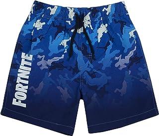 Fortnite Shorts de baño niños | Bañador Gamer Azul Claro u Oscuro