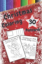 Christmas Coloring Postcards: Handmade Tear-Out Cards to Color and Share | Create Your Own Blessings | Funny Quotes | Gift...