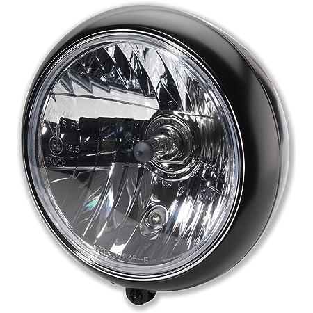 Wisamic 7 Zoll 80w Motorrad Haupt Scheinwerfer Frontscheinwerfer Halo Für Harley Davidson Motorräder Schwarz Mit Angel Eyes Auto