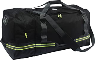 Ergodyne Arsenal 5008 Firefighter Turnout Gear and Safety Duffel Bag for Fire, Fall Protection and Sport Gear Bag Use, Black