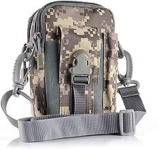HSR Universal Outdoor Tactical Bag Military Waist Belt Bag Wallet with Zipper Multifunction Phone Pouch Bag for Men Outdoor