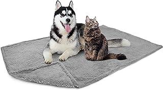 PetAmi Fluffy Waterproof Dog Blanket Fleece | Soft Warm Pet Fleece Throw for Large Dogs and Cats | Fuzzy Plush Sherpa Thro...