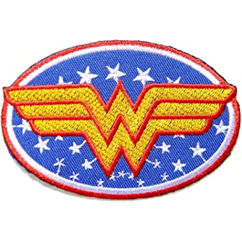Premium DIY Girl Women Batman Embroidered Patch Applique Badge Iron on Sew