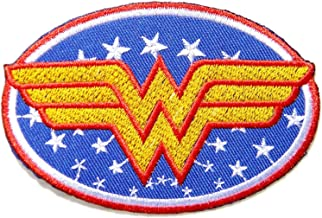 Wonder Women Superhero Comics Cartoon Logo Kid Baby Girl Jacket T shirt Patch Sew Iron on Embroidered Symbol Badge Cloth Sign Costume