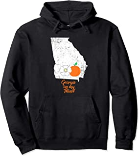 GA Georgia on My Mind Peach Peaches Hoodie Men Women Gift