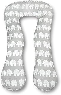 Stillkissen 330cm Lagerungskissen Seitenschläferkissen Elefant Grau