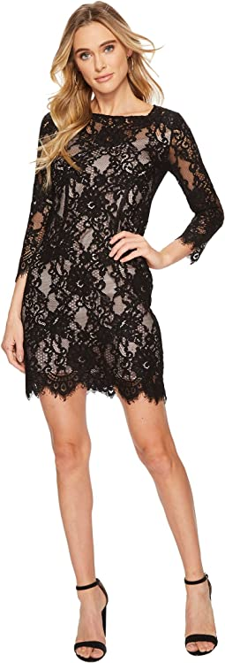 BB Dakota - Hale Two-Tone Lace Dress