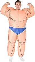 Bodysocks Inflatable Bodybuilder Fancy Dress Costume