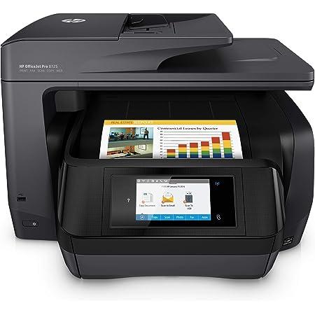 Hp Officejet Pro 8725 Multifunktionsdrucker Schwarz Computer Zubehör