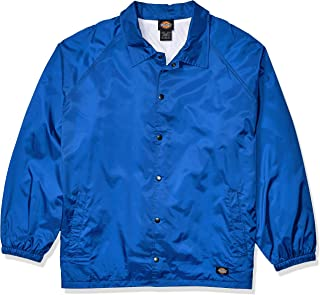 Dickies Men's Snap Front Nylon Jacket Big