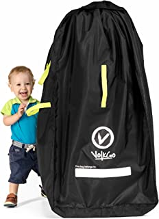 VolkGo Premium Quality Durable Stroller Bag for Airplane - Standard or Double/Dual Stroller Gate Check Bag