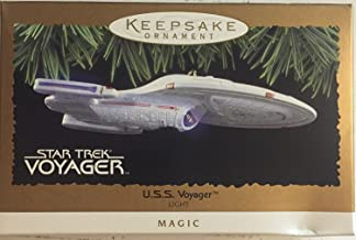 Hallmark Keepsake Ornament - Star Trek U.S.S. Voyager Magic Light Ornament 1996 (QXI7544)
