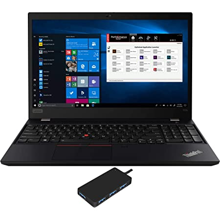 "Lenovo ThinkPad P53s Workstation Laptop (Intel i7-8565U 4-Core, 16GB RAM, 512GB m.2 SATA SSD, Quadro P520, 15.6"" Full HD (1920x1080), Fingerprint, WiFi, Bluetooth, Webcam, Win 10 Pro) with USB3.0 Hub"