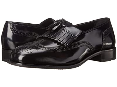 Florsheim Lexington Wingtip Tassel Slip-On (Black) Men