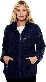 Women's Zip-Front Sherpa Jacket
