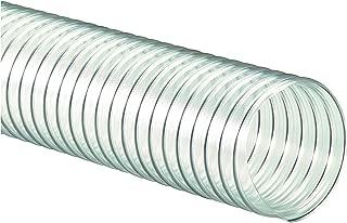 Flexaust 8171060025 R-4 PVC Flexible Hose, 160 Degrees F, 25' Length, 6