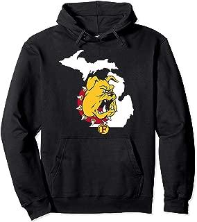 Ferris State Bulldogs Logo State Hoodie - Apparel
