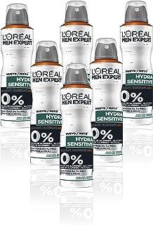 comprar comparacion L'Oreal Paris Men Expert Deo Spray Sensitive Control R 150 ml - Lote de 6