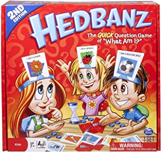 Hedbanz Game Kids Family Guess Game Card Games   Charades Parlor Guessing Party Toys