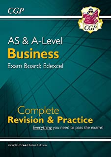 AS and A-Level Business: Edexcel Complete Revision & Practice with Online Edition