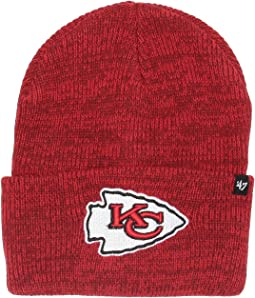 Kansas City Chiefs Brain Freeze Cuff Knit